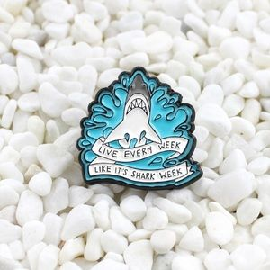 Jewelry - Shark Week Enamel Pin